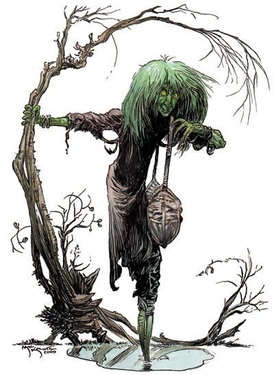 Green Hag D&D