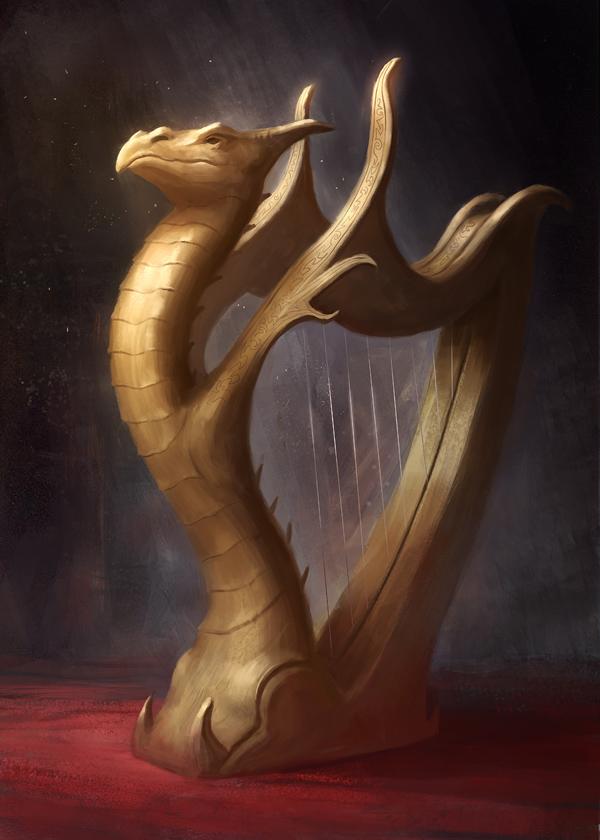 Dragon Harp