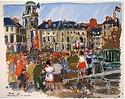 L'entrée et la libération de la Bretagne