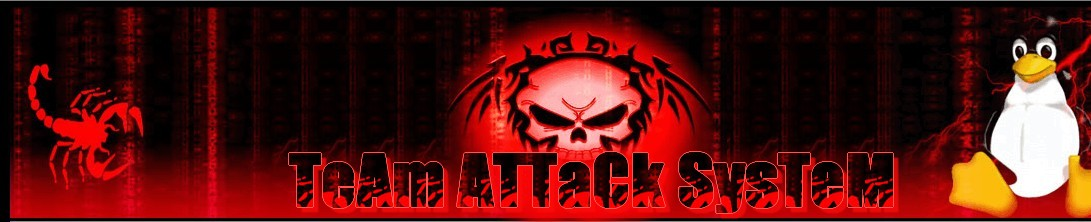 TeAm ATTaCk SysTeM HaCking Security