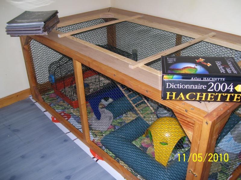 id e cage en bois. Black Bedroom Furniture Sets. Home Design Ideas