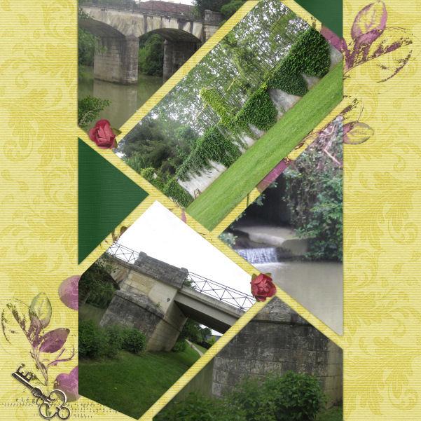 mosaiques template simplette page jolie coeur kit vintage butterflies de leaugoscrap