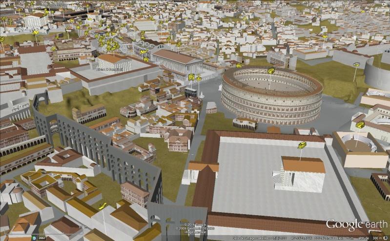 Visite virtuelle de la rome antique avec google earth - La cuisine de la rome antique ...