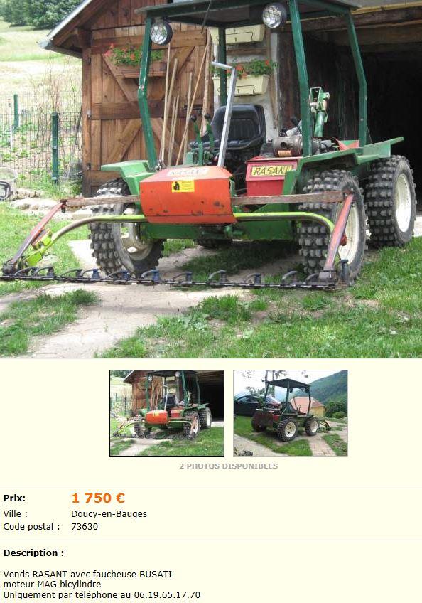 tracteur de pente rasant tracteur agricole. Black Bedroom Furniture Sets. Home Design Ideas
