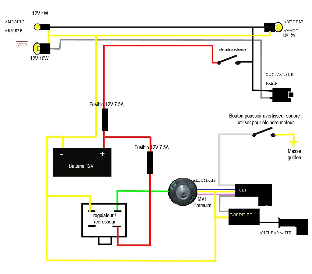 Explication Pour Branchement Pompe A Eau Sur 103 Rcx