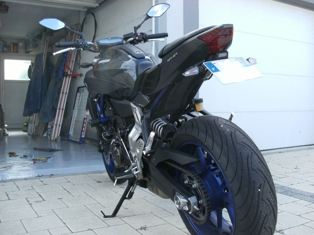 race blue de timinoo forum yamaha mt 07 france. Black Bedroom Furniture Sets. Home Design Ideas