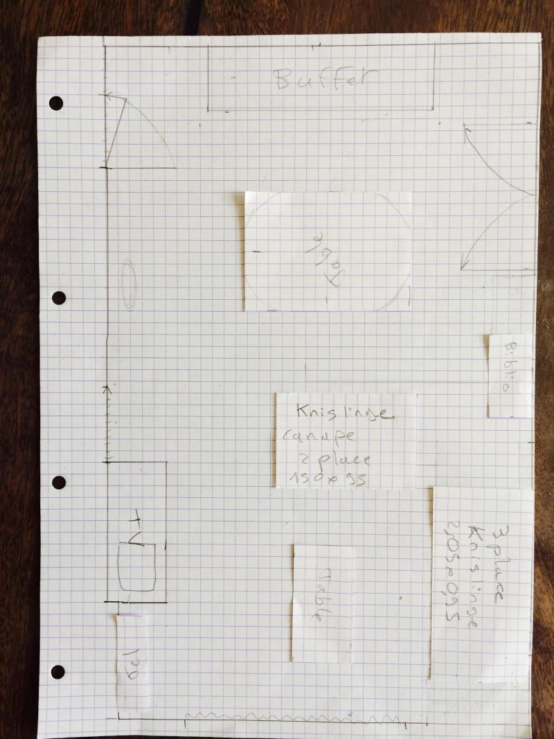 Comment organiser le salon salle manger pour y mettre un canap d 39 angle finir deco photos - Comment mettre une housse de clic clac ...