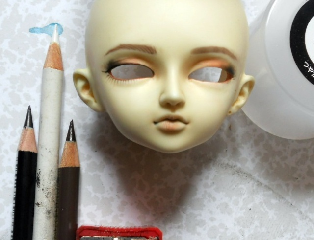 Déduire les taches de pigment la personne