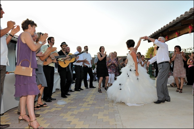 flamenco animation cocktail de mariage