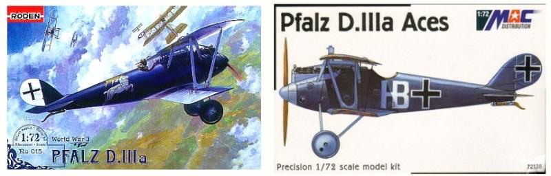 1:72 mac72127// MAC Distribution TOPP MODELL Pfalz D.III – Werner Voss