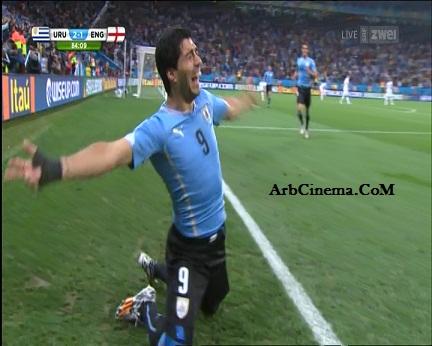 اهداف مباراة أوروجواي وانجلترا [2014/6/19 swarez11.jpg