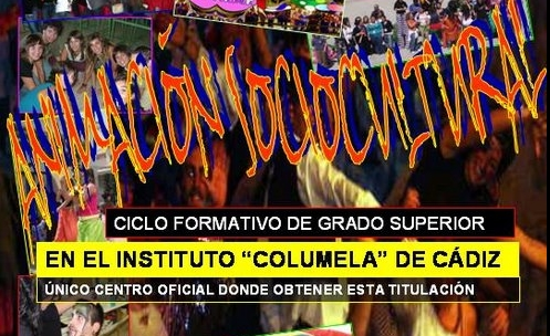 ANIMACI�N SOCIOCULTURAL EN C�DIZ - IES Columela