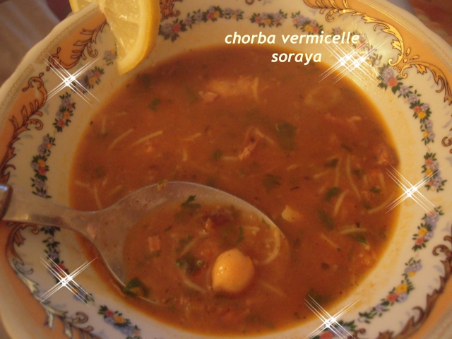 DELICIEUSE CHORBA AU VERMICELLE dans soupe a_effa11
