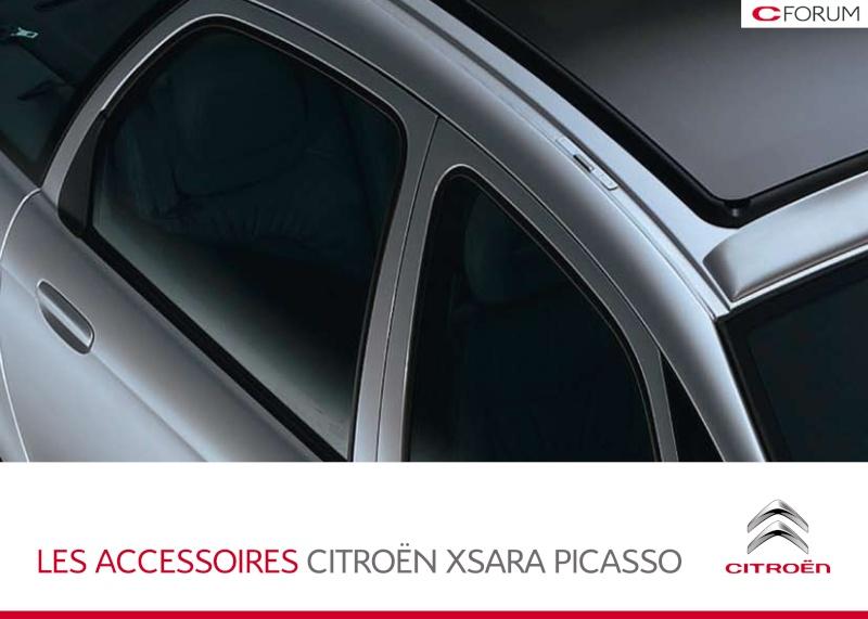 Catalogue des accessoires pour le Xsara Picasso