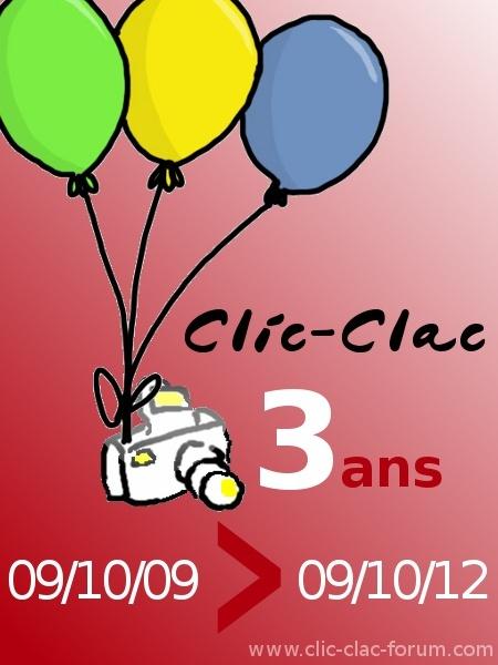 3 ans de Clic-Clac