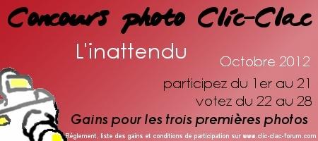 Concours photo Clic-Clac d'Octobre 2012, L'inattendu