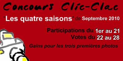 Concours Clic-Clac de Septembre 2010, Les quatre saisons