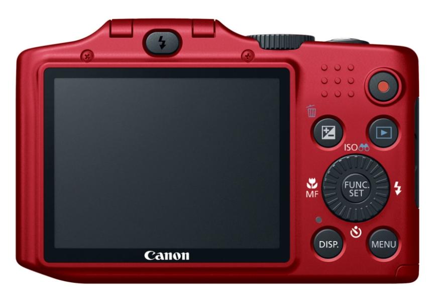 Canon PowerShot SX160 IS rouge