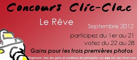 Concours photo Clic-Clac du forum photo Clic-Clac de Septembre 2012, sur le thème Le Rêve