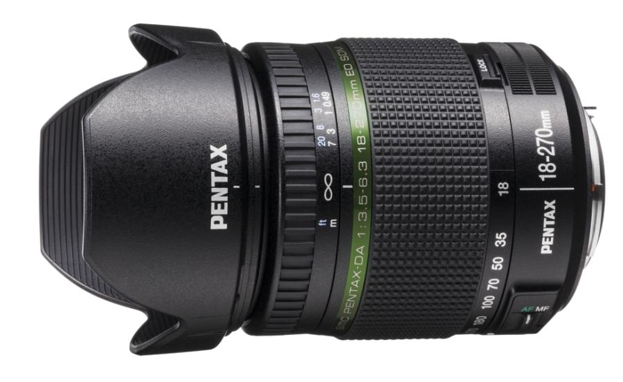 Pentax SMC DA 18-270mm F/3.5-6.3 SDM