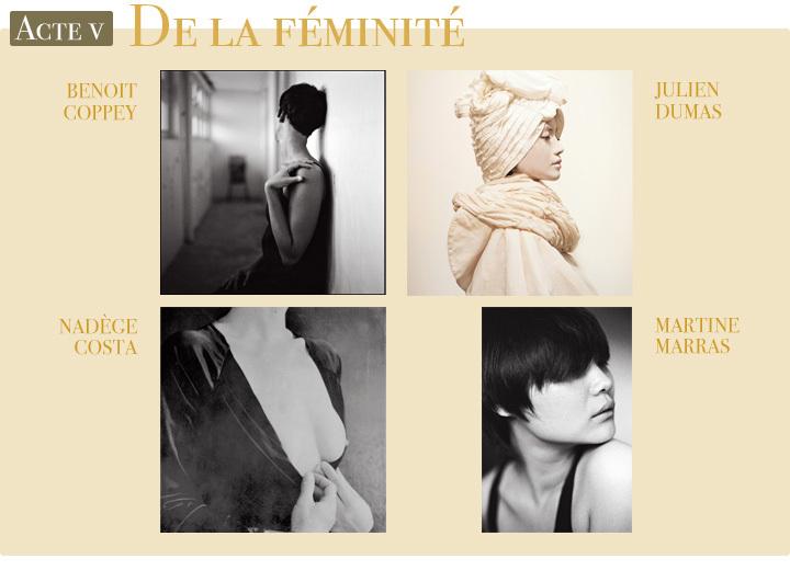Les 4 lauréats (Benoît Coppey, Julien Dumas, Nadège Costa et Martine Marras) de l'Acte IV de L'Exposition Originale de Compétence Photo
