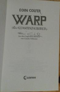 Warp signiert
