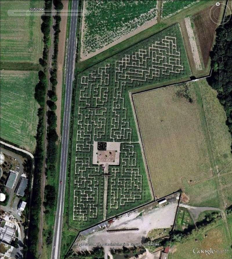 Les labyrinthes d couverts dans google earth page 5 - Ferme de gally yvelines ...