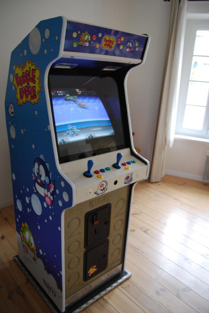 borne arcade rit legno