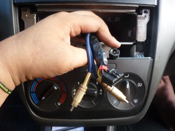 Branchement autoradio fiat grande punto