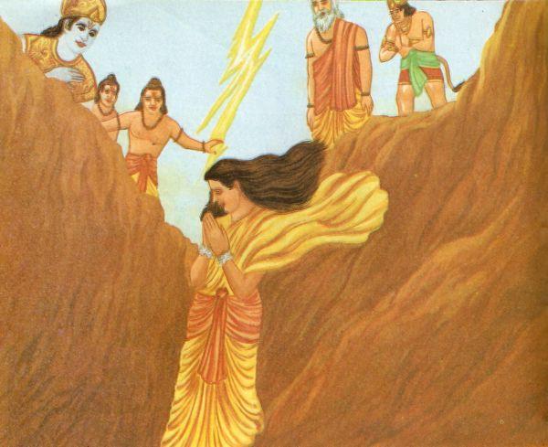 Znalezione obrazy dla zapytania sita found in earth ramayana