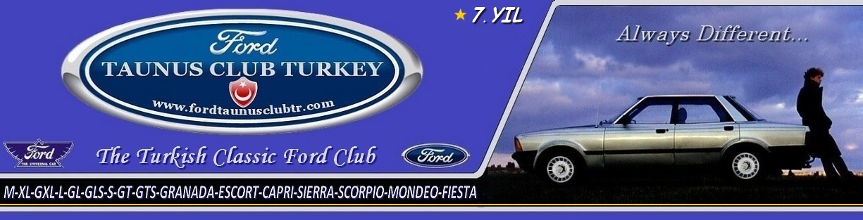FORD TAUNUS CLUB TURKEY