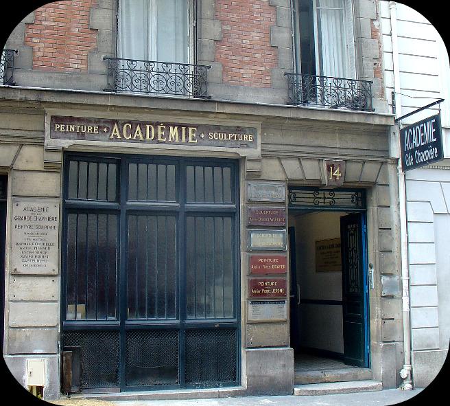 L'Académie de la Grande Chaumière dans Le jardin des souvenirs 11810