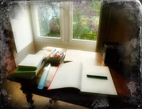 Illusion d'écriture !  dans Le jardin des souvenirs 53113510