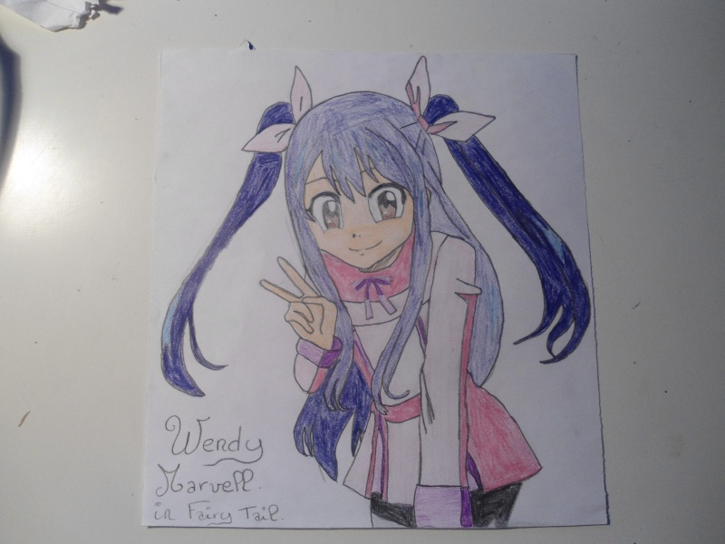 comment dessiner wendy fairy tail