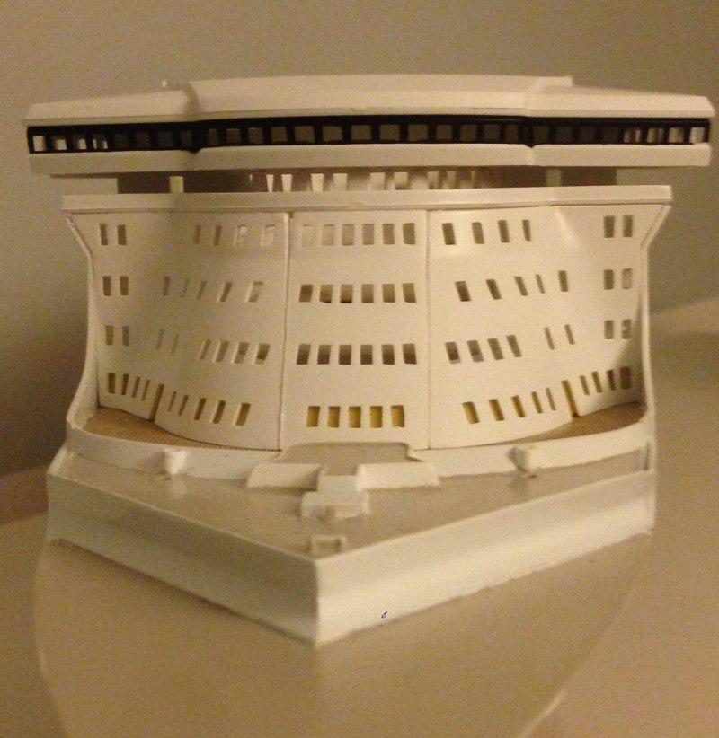 Construction du queen mary 2 au 1 400 de chez revell page 6 for Mastiquer une fenetre