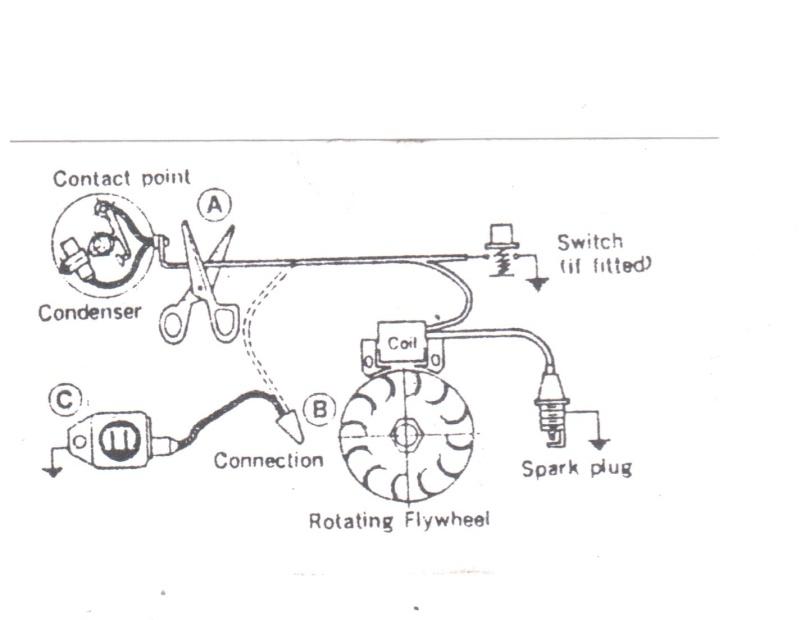 Modification simple allumage rupteur lectronique - Fonctionnement d un condensateur ...