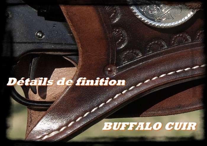 buffalo cuir presente. Black Bedroom Furniture Sets. Home Design Ideas