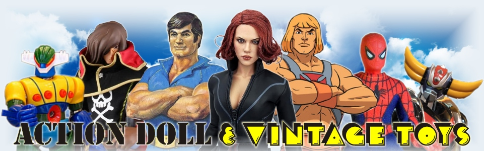 ACTION DOLL E VINTAGE TOYS