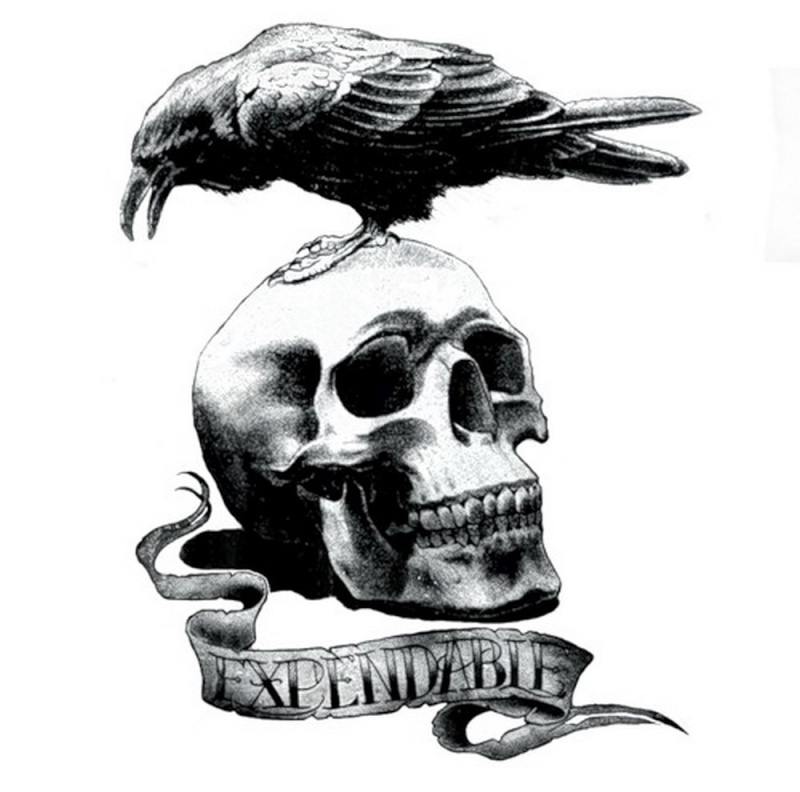 Expendables Skull Tattoo | www.imgkid.com - The Image Kid ...
