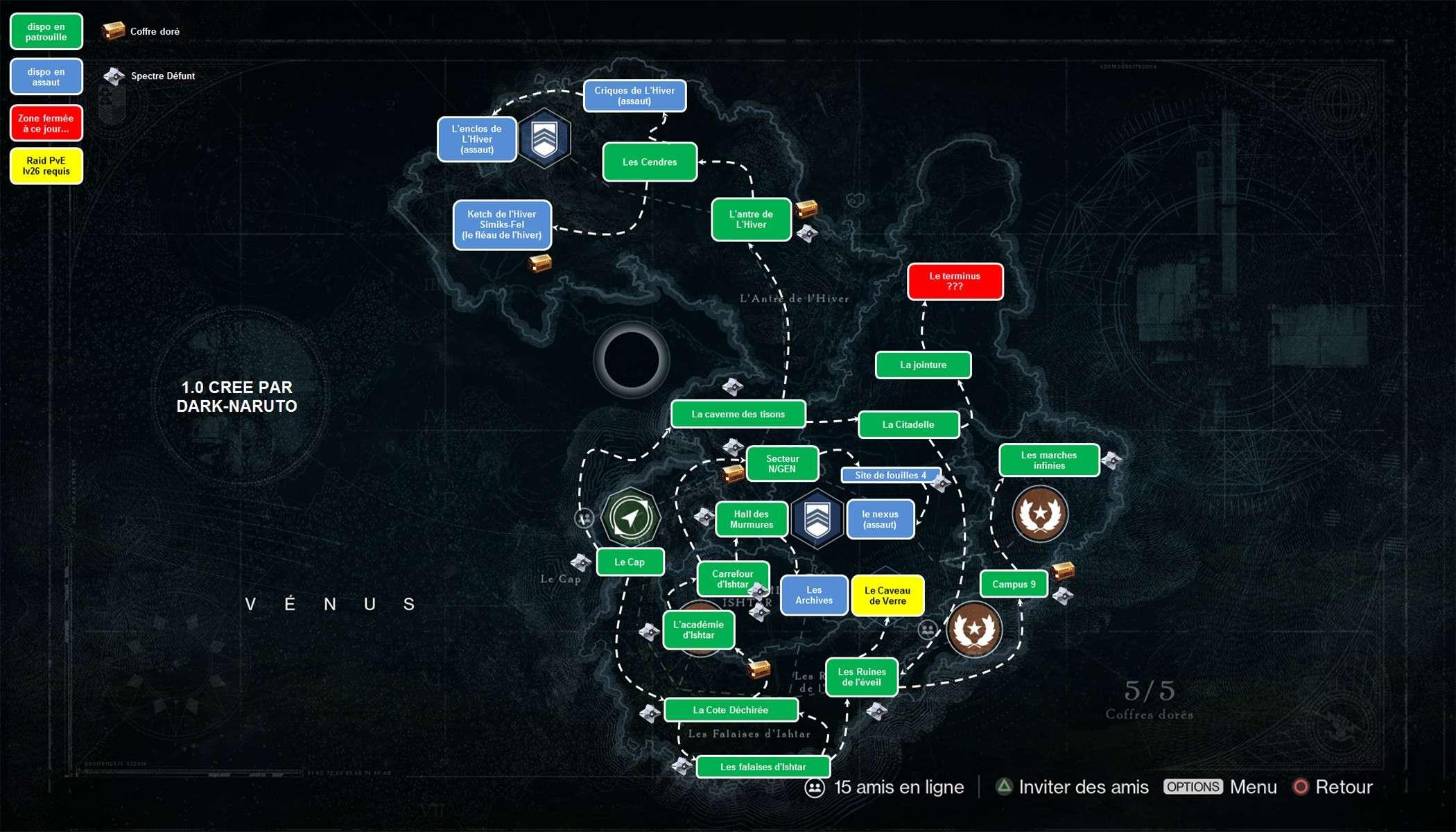 Pin destiny venus map on pinterest
