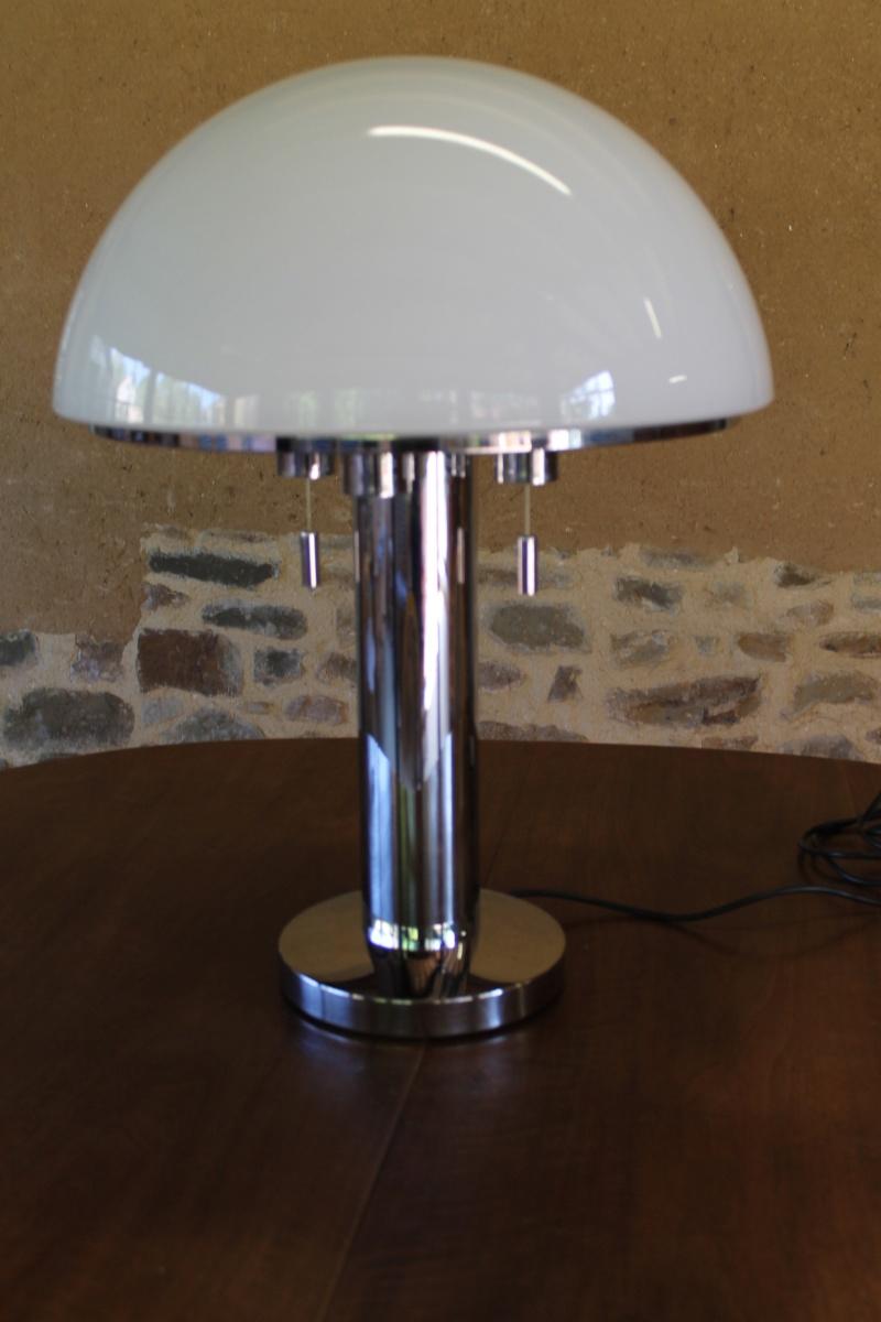 Lampe bauhaus glashutte limburg 6278 1970 80 for Annulation offre d achat maison