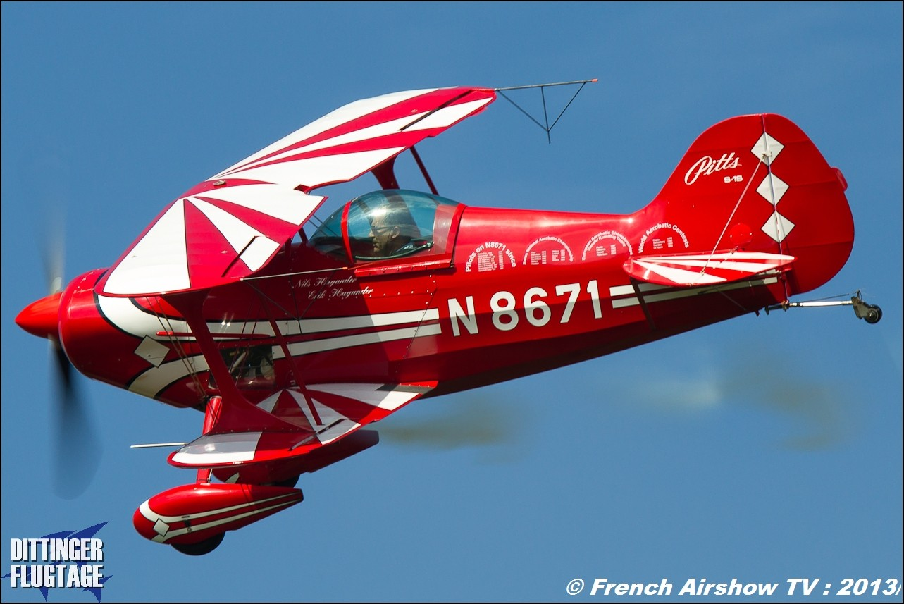 Pitts Special S1s Dittinger Flugtage 2013
