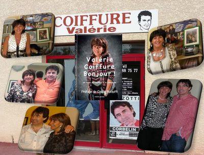 Valérie coiffure st André le Gaz son livre