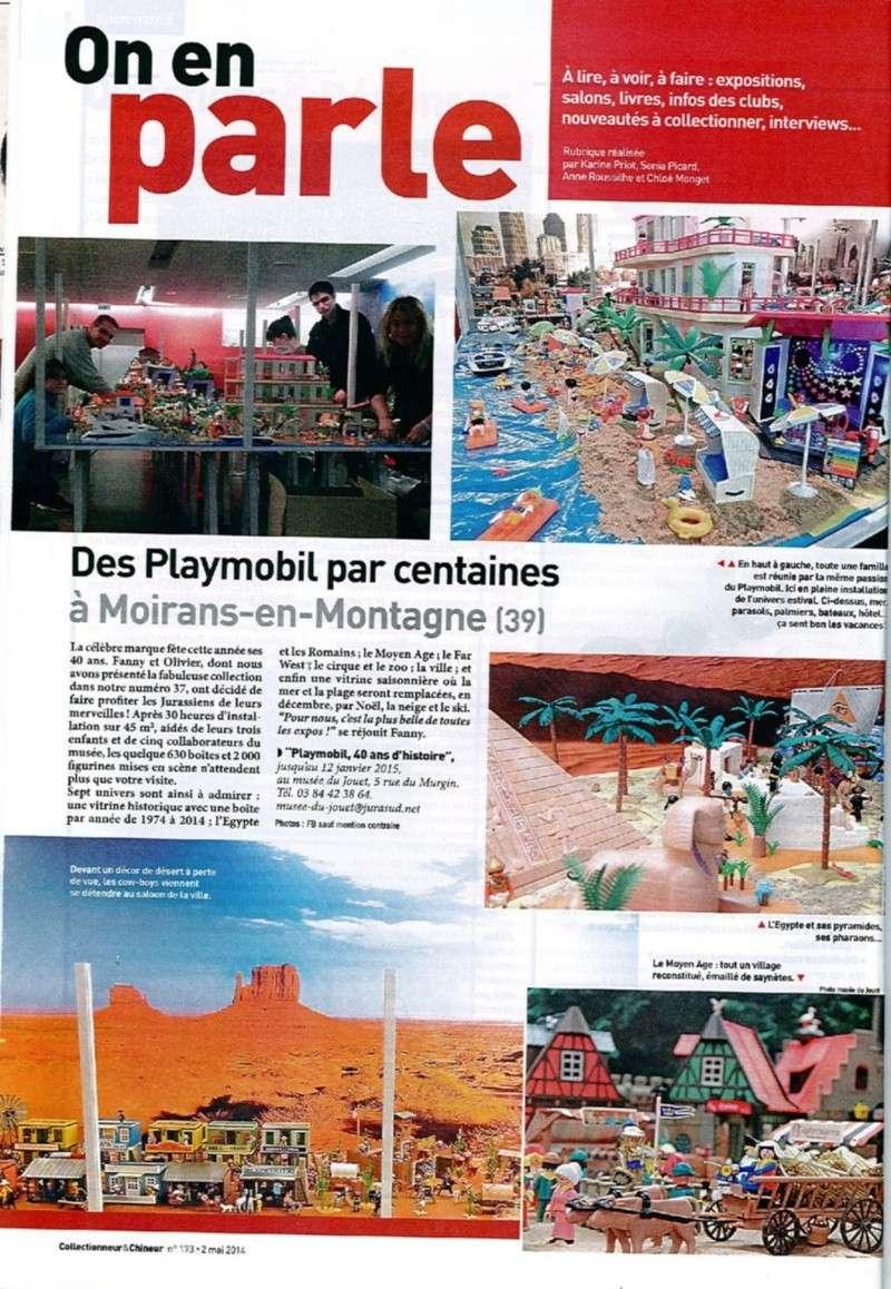 collectionneur et chineur expo playmobil fanny et olivier