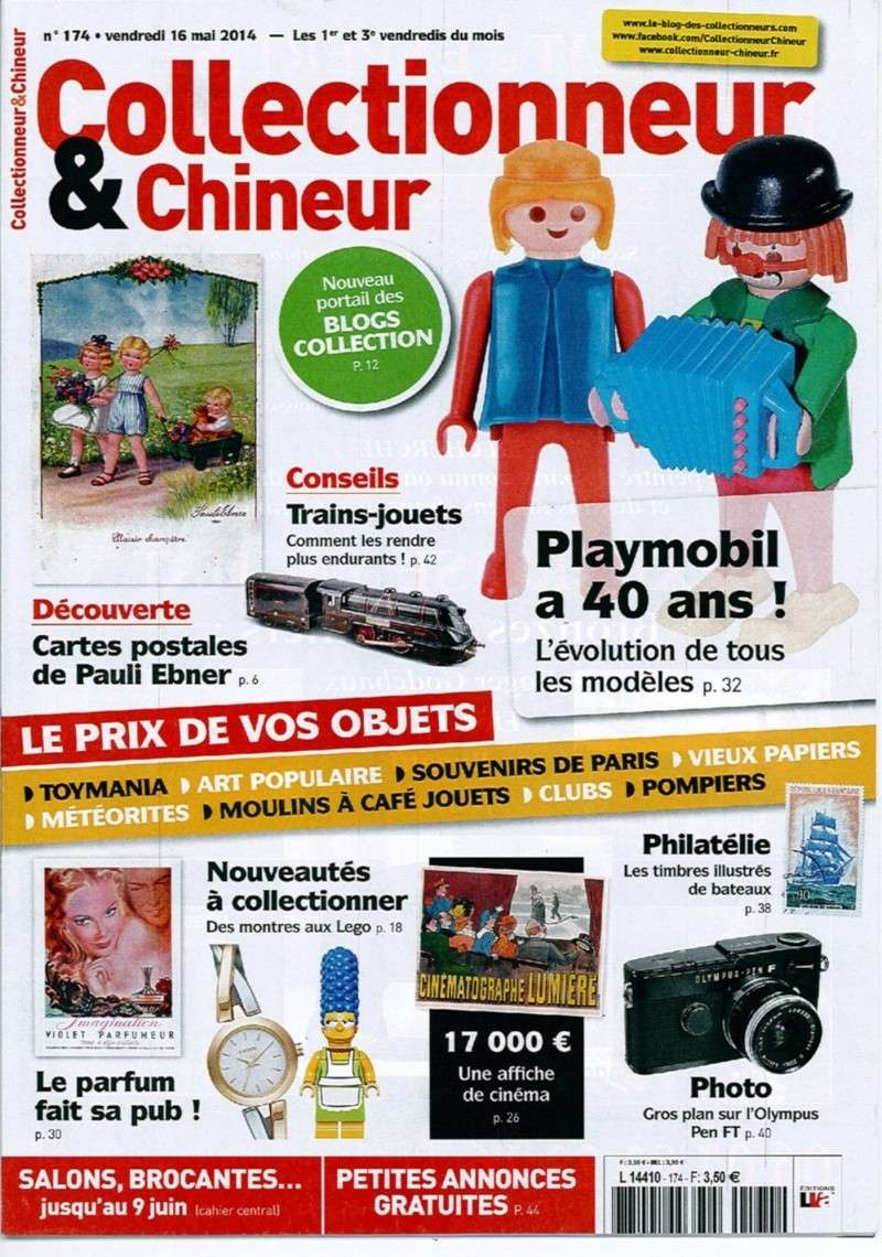 Collectionneur & chineur 174 expo fanny et olivier playmobil