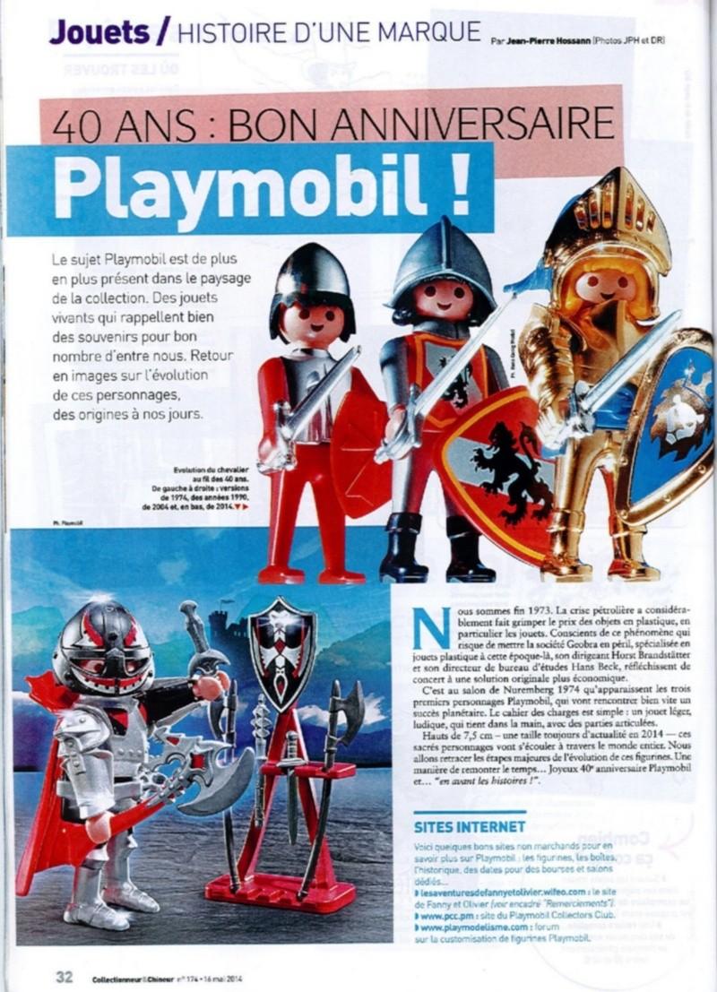 collctionneur et chineur 174 expo playmobil fanny et olivier