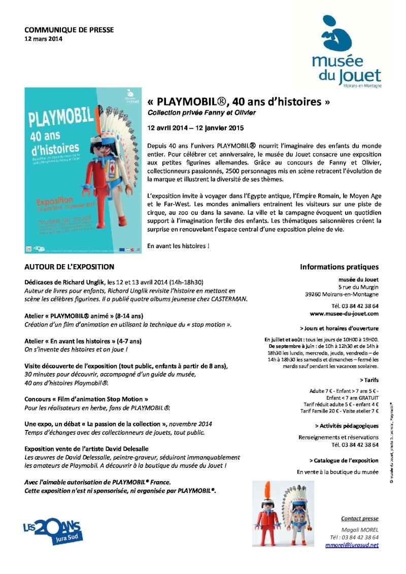communiqué de presse du musée du jouet expo playmo fanny et olivier