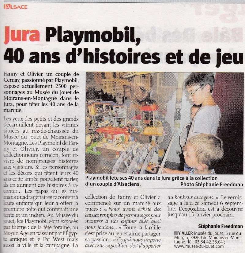 l alsace week end fanny et olivier expo playmobil