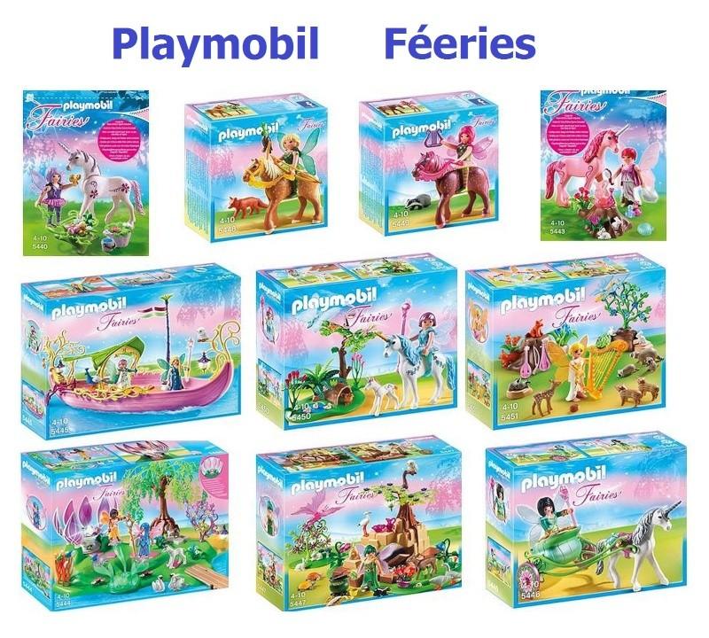 playmobil féérie fanny et olivier