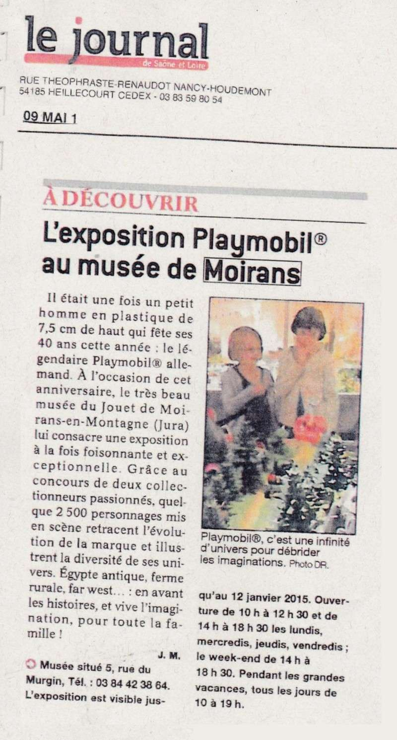 le journal expo playmobil fanny et olivier